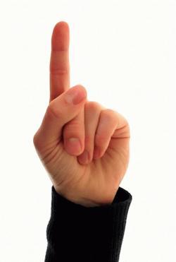 finger jelentese magyarul