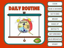 napi időbeosztás angolul